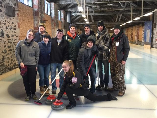 Winter Carnival Curling